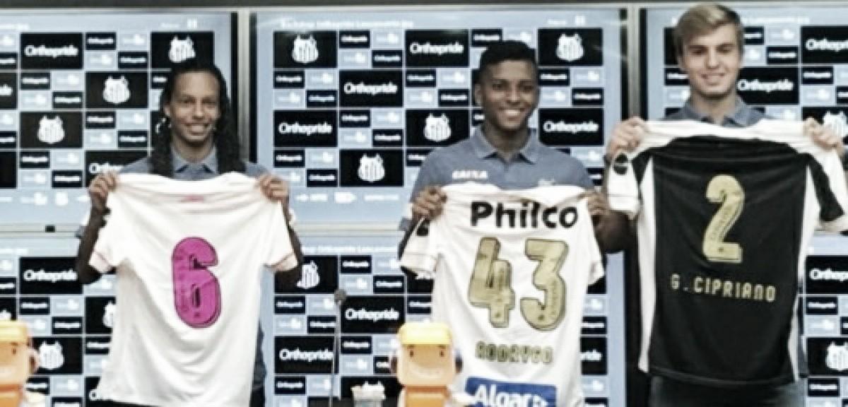 Santos apresenta novo patrocinador para número da camisa