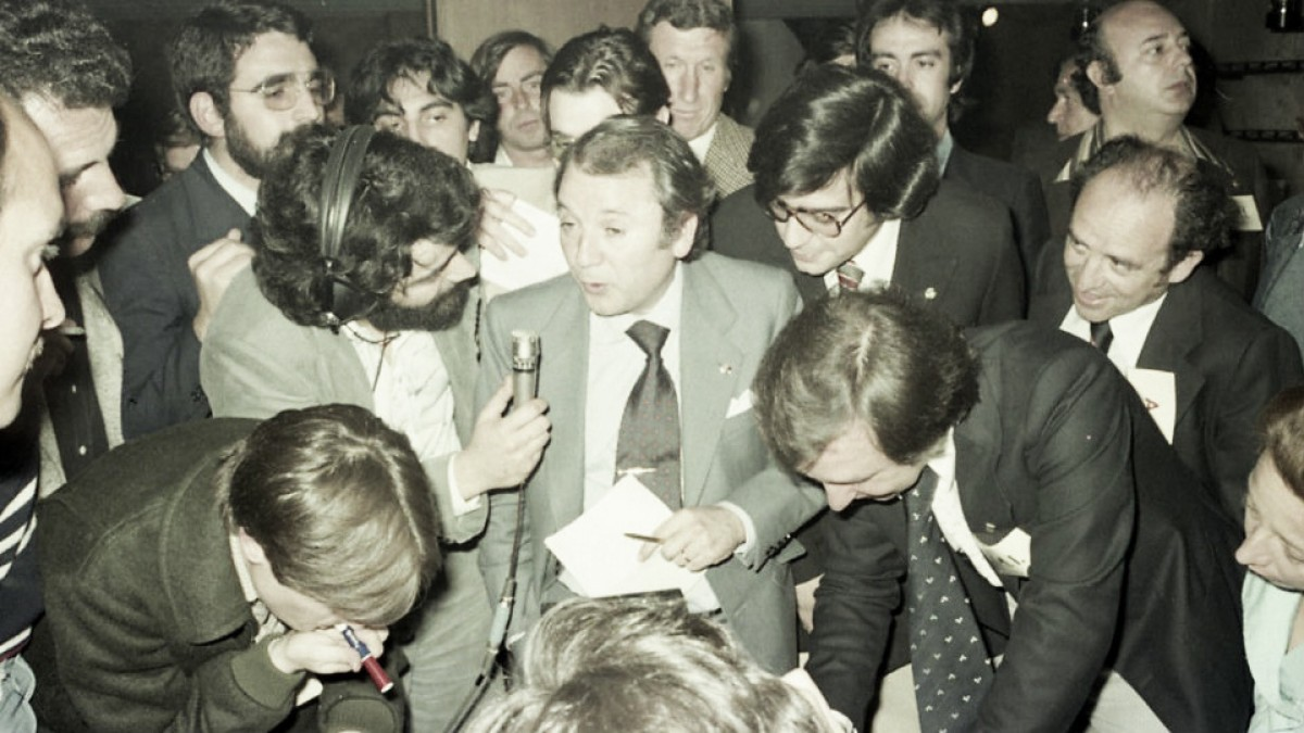 40 años de la primera victoria electoral de Núñez