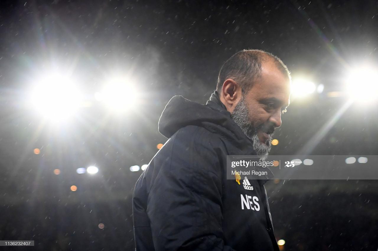 The five key quotes from Nuno Espirito Santo's pre-Arsenal press conference