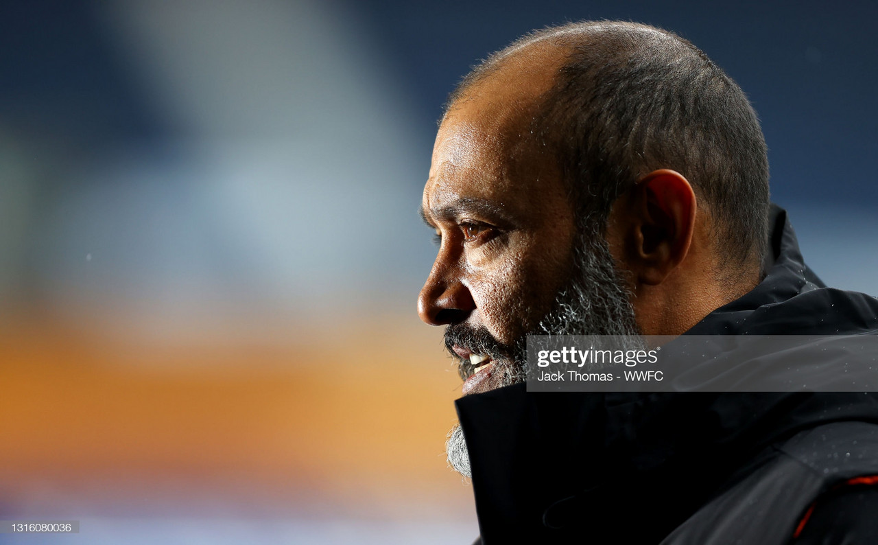 "Nuno says ""the final touch must be better"" as timid finishing foils Wolves again"