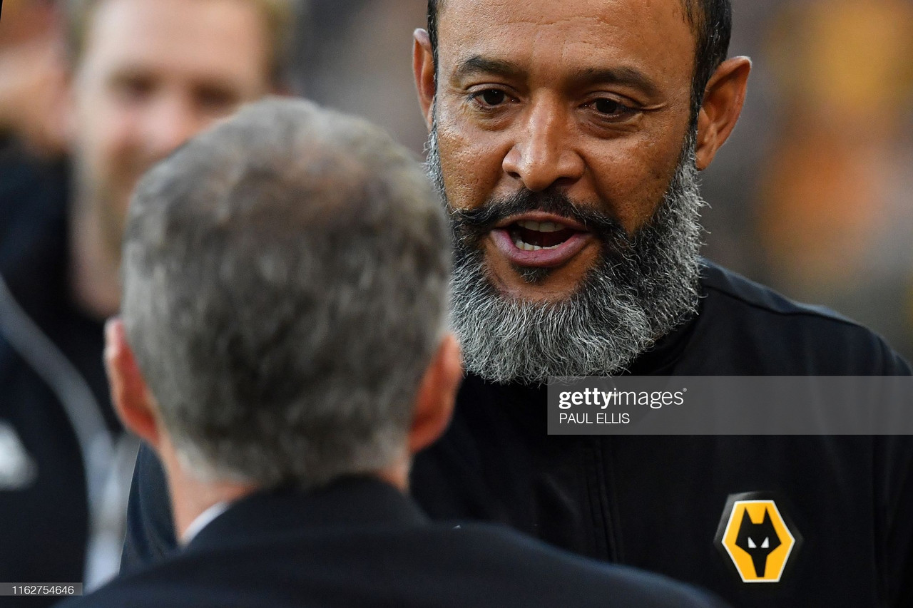 The key quotes from Nuno Espirito Santo's press conference ahead of meeting with United