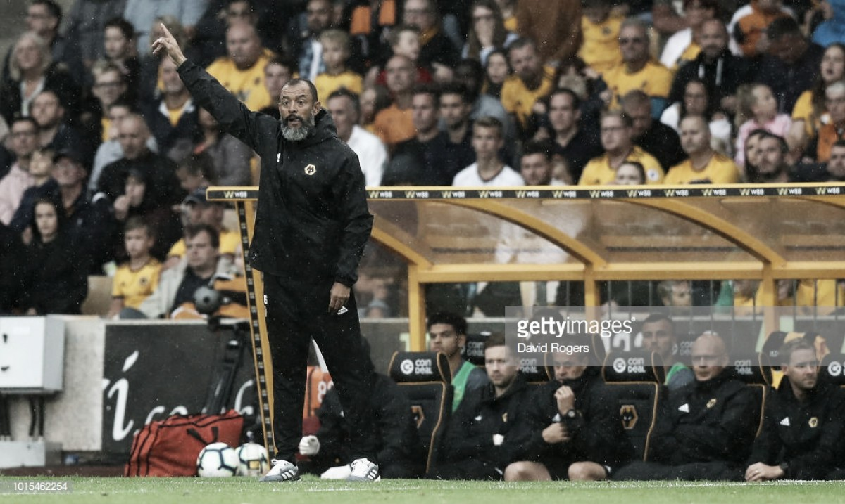 Nuno Espírito Santo pleased with 'energy and character' in Wolves' season-opening draw