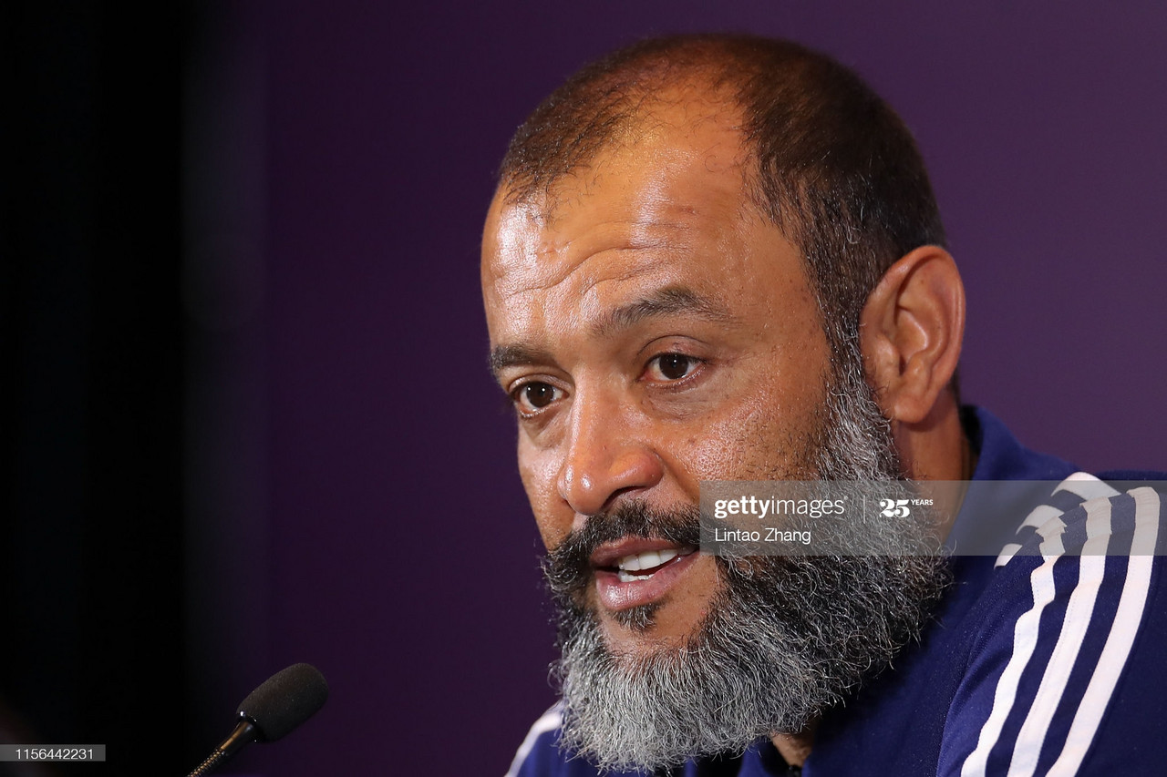 The five key quotes from Nuno Espirito Santo's pre-Manchester City press conference