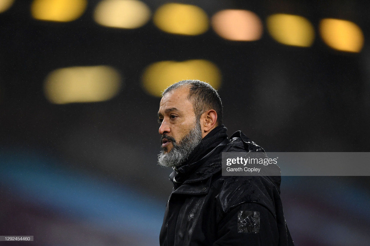 The five key quotes from Nuno Espirito Santo's pre-Crystal Palace press conference