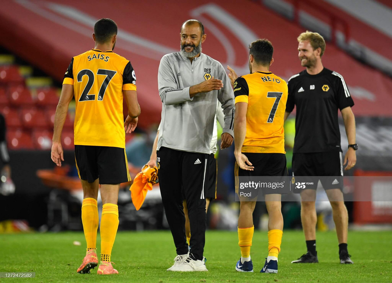 Nuno Espirito Santo:  We are still working
