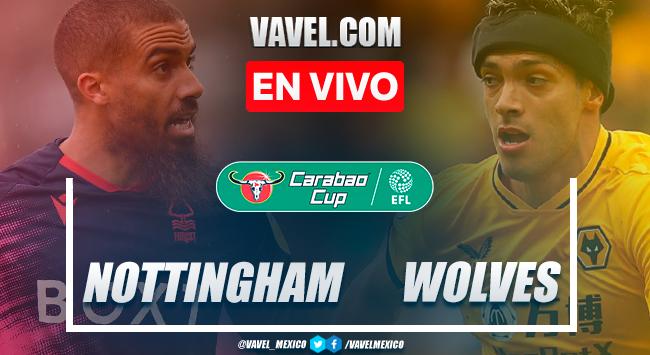 Resumen y goles: Nottingham Forest 0-4 Wolverhampton en Primera Ronda de Carabao Cup 2021