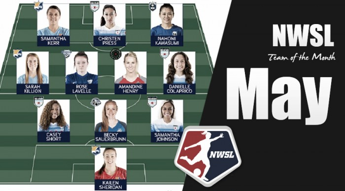 NWSL announces its Best XI for May 2017