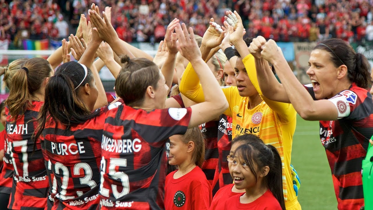 Portland Thorns vs Washington Spirit: A song for the fallen
