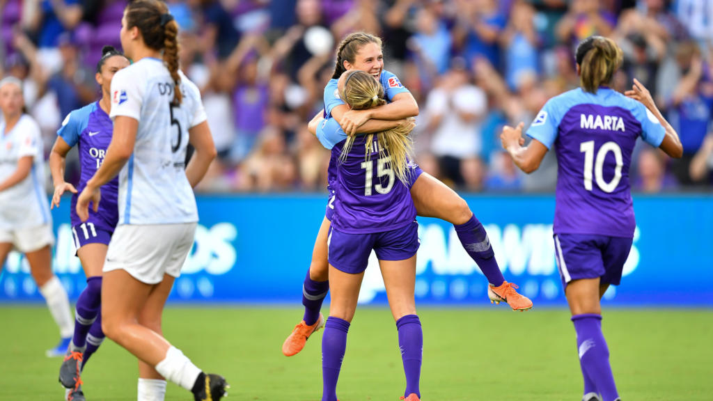 Orlando Pride vs Sky Blue FC: The song of the rookie