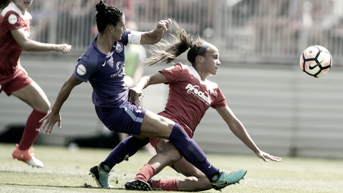 A late Mallory Pugh penalty kick gives the Washington Spirit the draw against the Orlando Pride