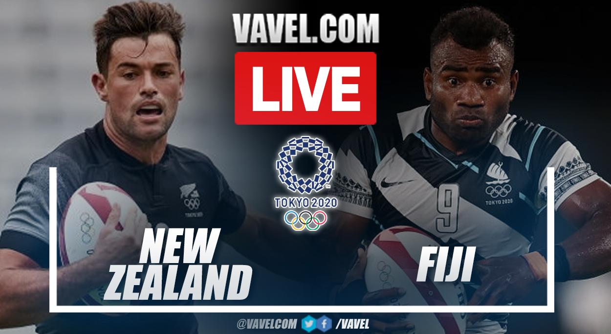 Highlights: New Zealand 12-27 Fiji in Tokyo 2020