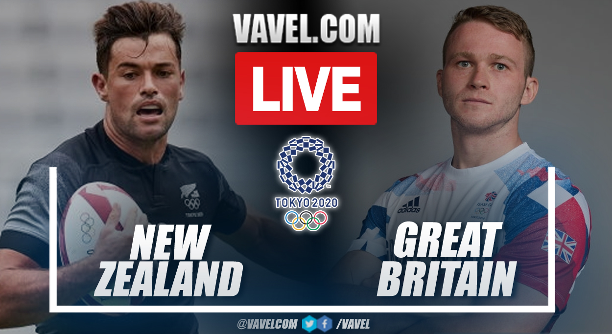 Highlights: New Zealand 29-7 Great Britain in Rugby semifinal match in Tokyo 2020