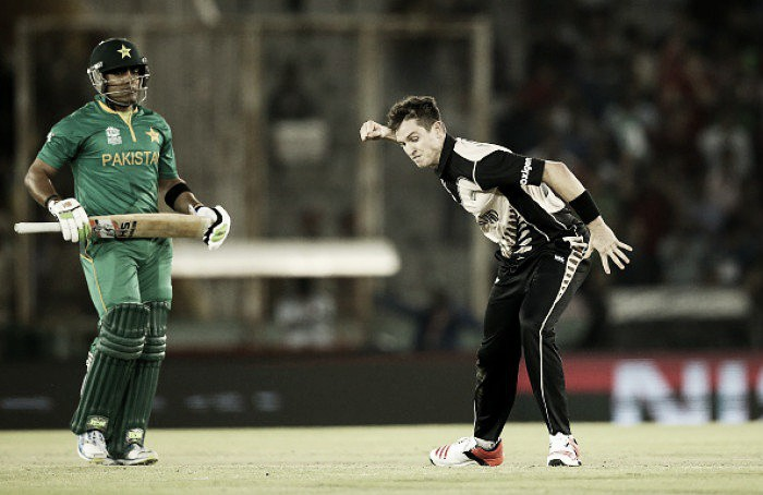 World T20: New Zealand see off Pakistan to reach the semi-finals