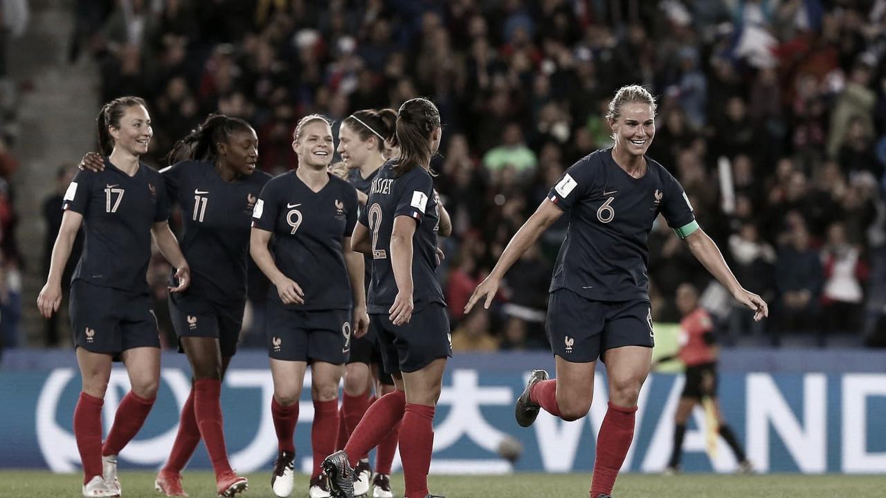 Resultado França 2 x 1 Noruega na Copa do Mundo Feminina 2019