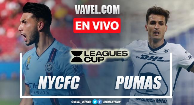 Goles y resumen del New York City (2) 1-1 (3) Pumas en Leagues Cup 2021