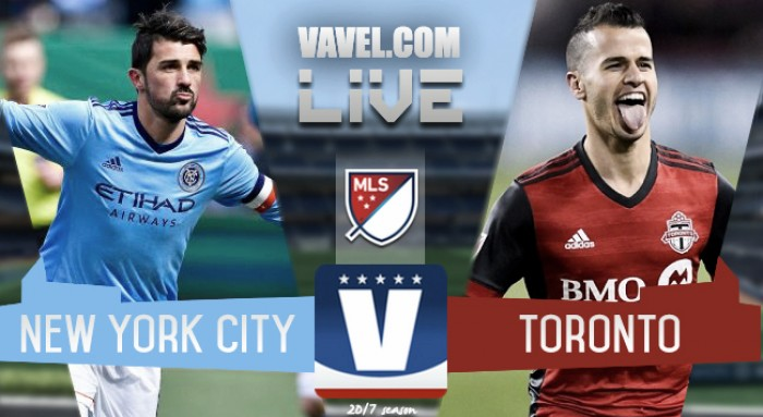 Result and Goals New York City FC 2-2 Toronto FC in 2017 Major League Soccer