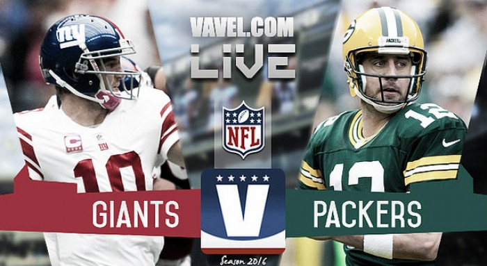 Score New York Giants Vs Green Bay Packers Of 2017 Nfl