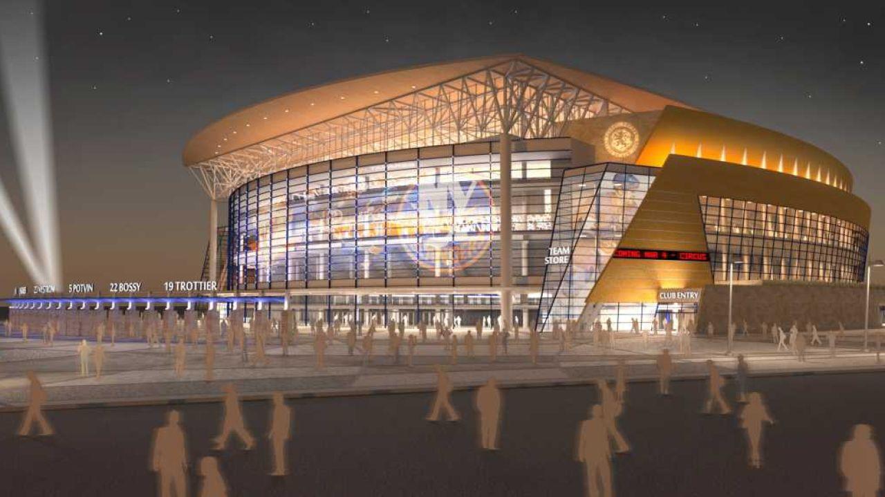 Comienza la construcción del nuevo pabellón de los NY Islanders