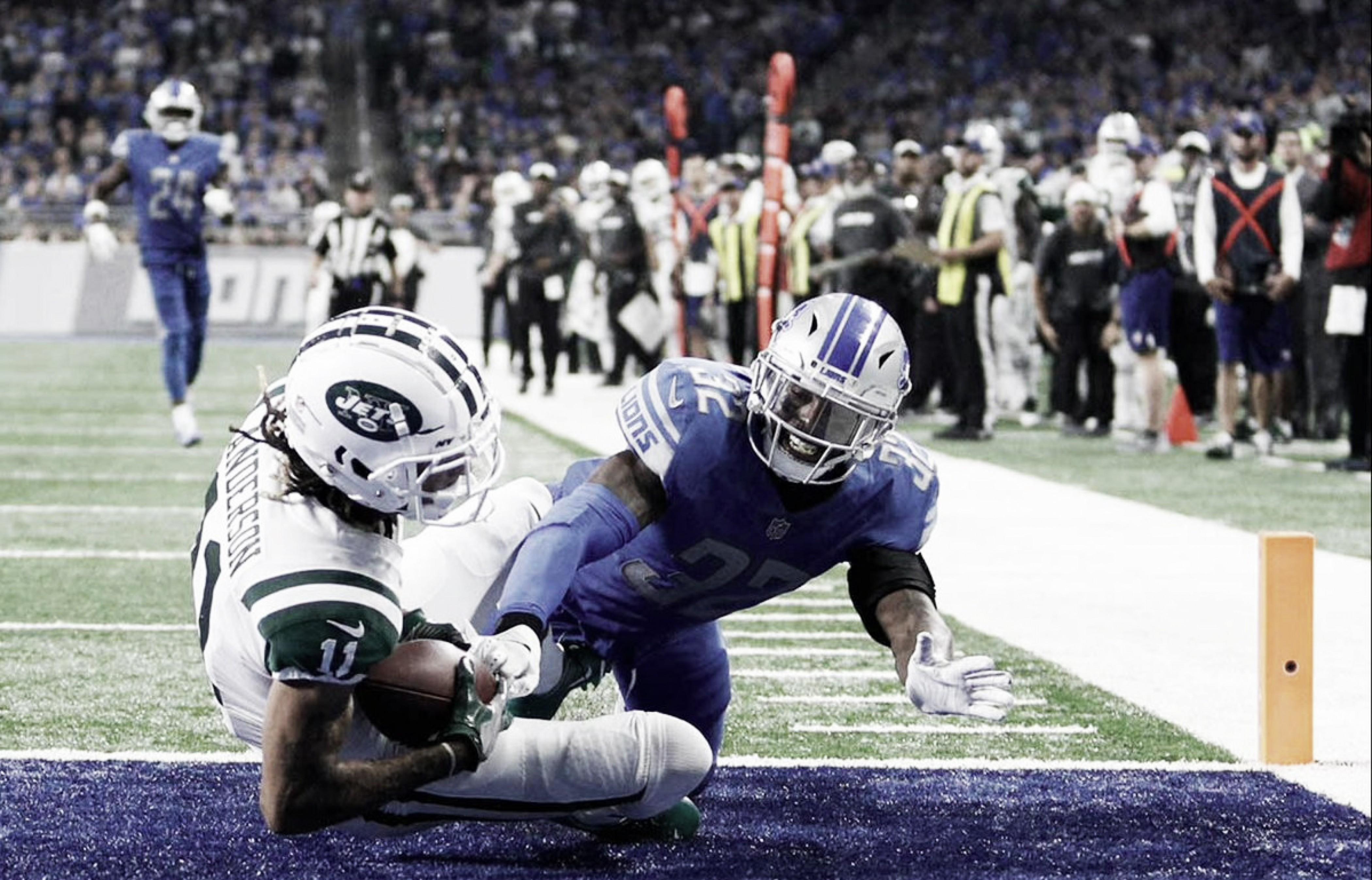 NFL: Darnold y los Jets sorprenden y apalean a los Leones