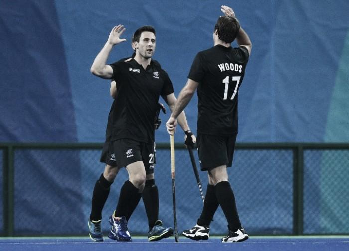 Nova Zelândia vence primeira ao golear Brasil no Hóquei sobre Grama masculino