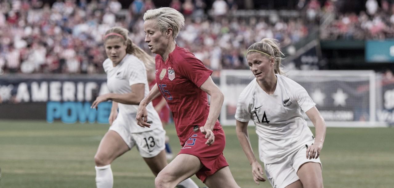 Nueva Zelanda - Estados Unidos: un fugaz vistazo a la próxima rival olímpica en la segunda jornada