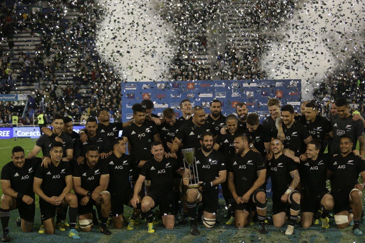 Rugby Championship - Trionfano gli All Blacks, secondo posto per il Sudafrica