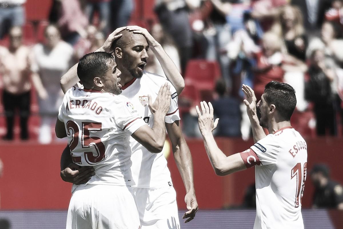 Sevilla - Villarreal, puntuaciones del Sevilla, jornada 32 de La Liga Santander