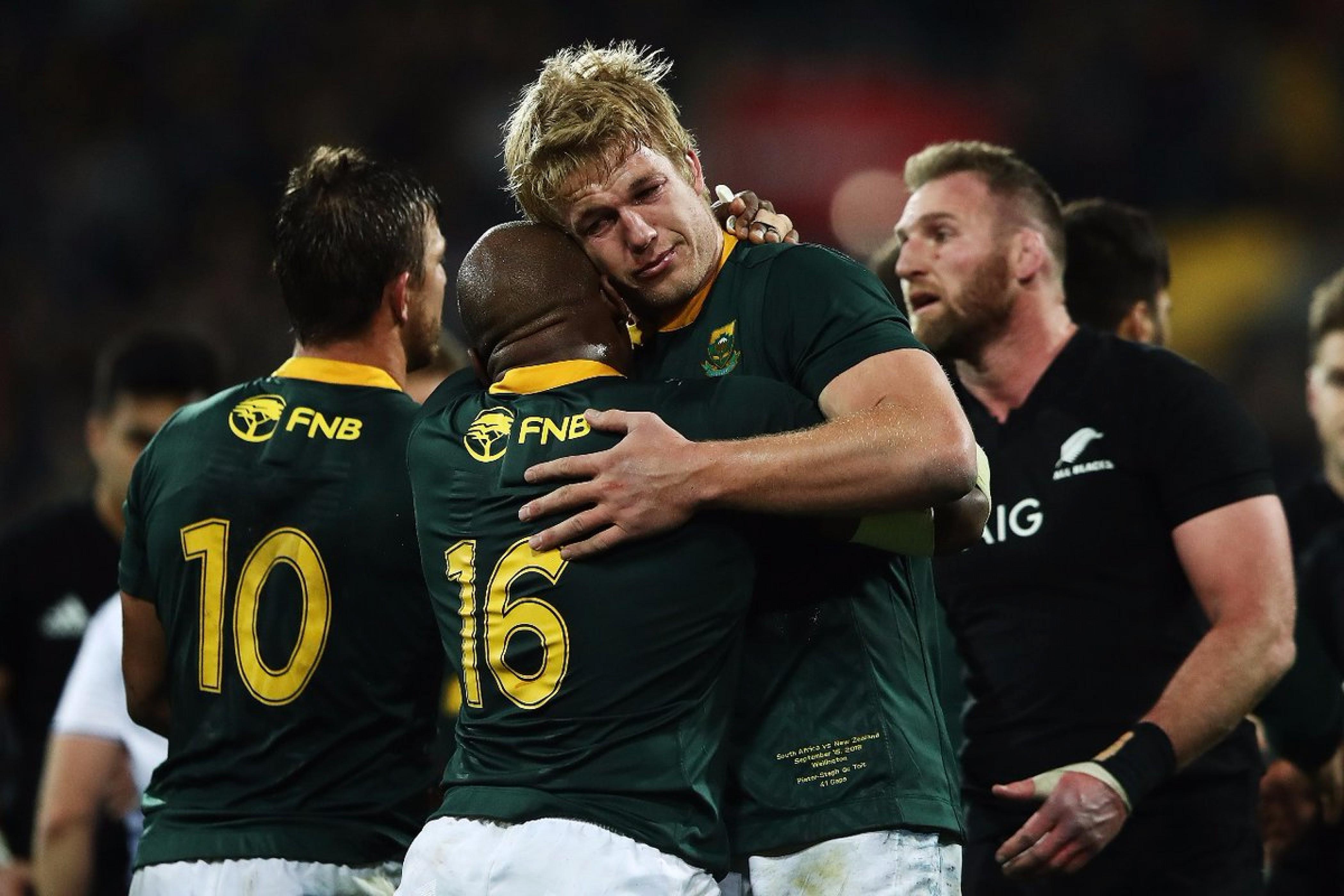 Rugby Championship - Giornata incredibile! Battuti gli All Blacks, trionfano Sudafrica e Argentina