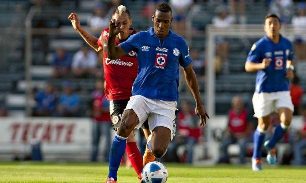 Resultado Xolos - Cruz Azul en Concachampions 2014 (1-0)