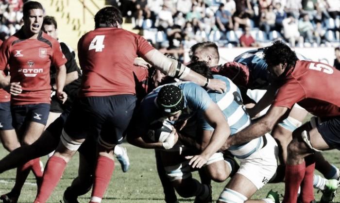 Triunfo de Argentina XV en Chile — Sudamérica Rugby Cup