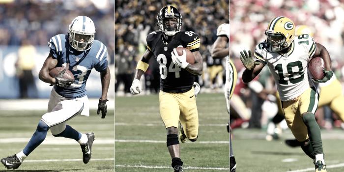 Top cinco de receptores en lo que va de NFL 2017/18