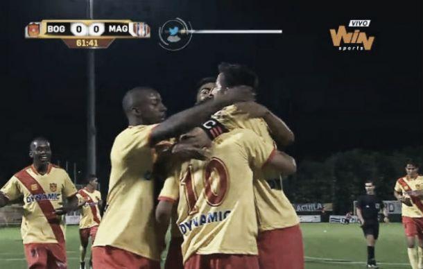 Bogotá vence por 1-0 a Unión Magdalena