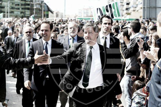 Bruno de Carvalho: «Doyen a quem doer, pavilhão vai estar construído em 2016»