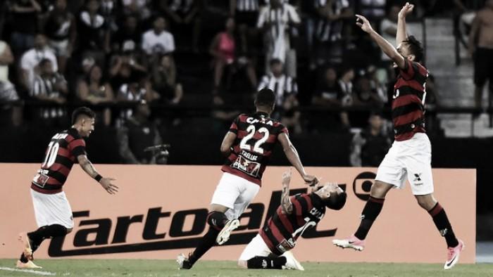 Vitória vira sobre Botafogo com gol nos acréscimos e ganha fôlego na luta contra rebaixamento