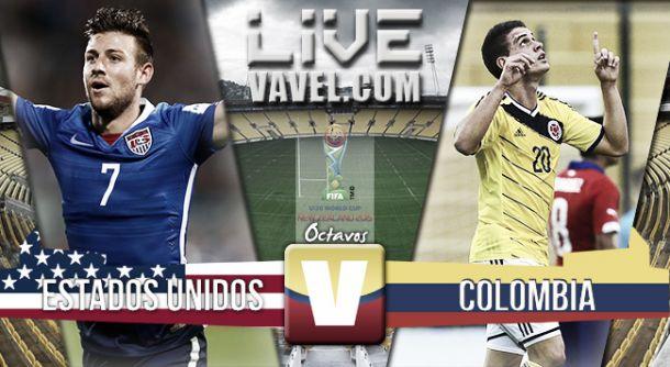 Resultado Estados Unidosvs Colombia en el Mundial Sub-20 2015 (1-0)