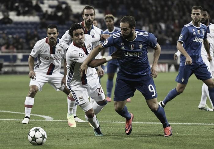 Juventus encara Lyon precisando de vitória para se garantir nas oitavas da UCL