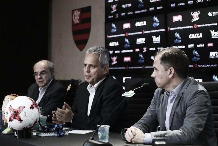 """Em nota, Flamengo agradece a Rueda e promete anúncio de substituto """"em breve"""""""
