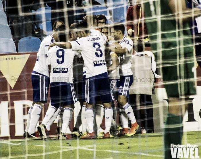 Fotos e imágenes del Real Zaragoza 2-0 AD Alcorcón, jornada 5 de Segunda División