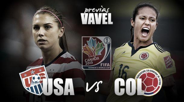 Estados Unidos - Colombia: buscando la gloria