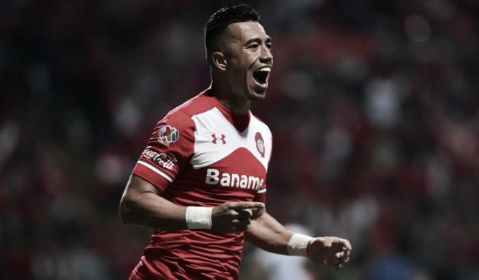 Fernando Uribe anotó en el último minuto y le dio el triunfo al Toluca sobre Tigres