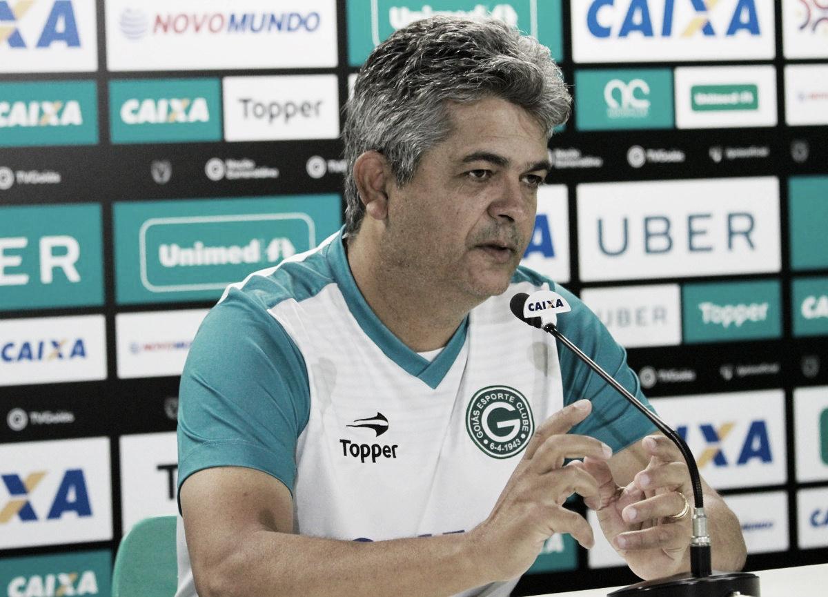 Mesmo com vice-liderança, Ney Franco pede calma ao Goiás para enfrentar novas disputas