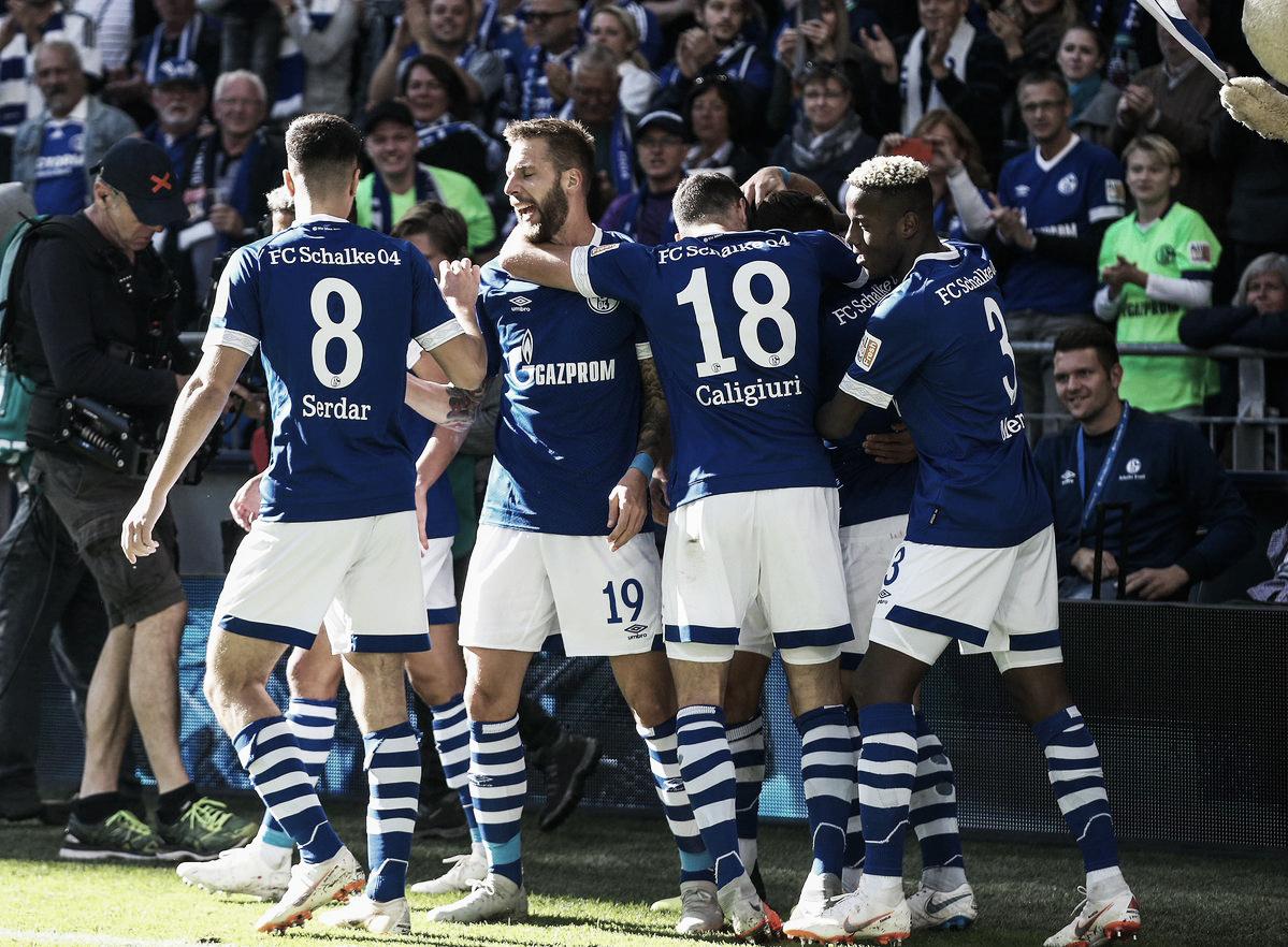 Schalke 04 bate Mainz 05 e garante primeira vitória na Bundesliga