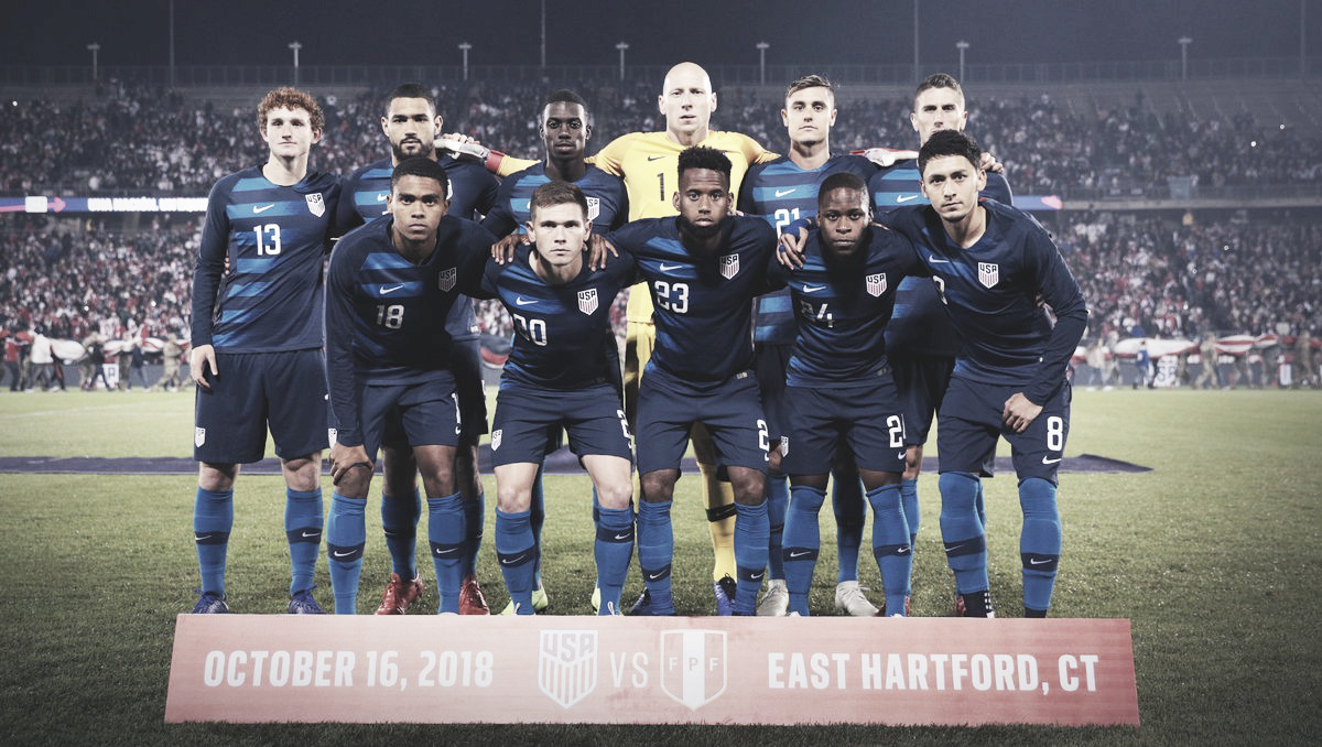 Estados Unidos rescató un empate ante Perú