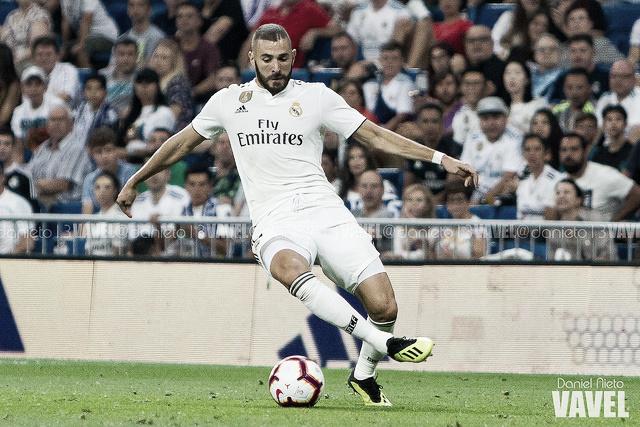 Benzema, goleador ante todos su rivales