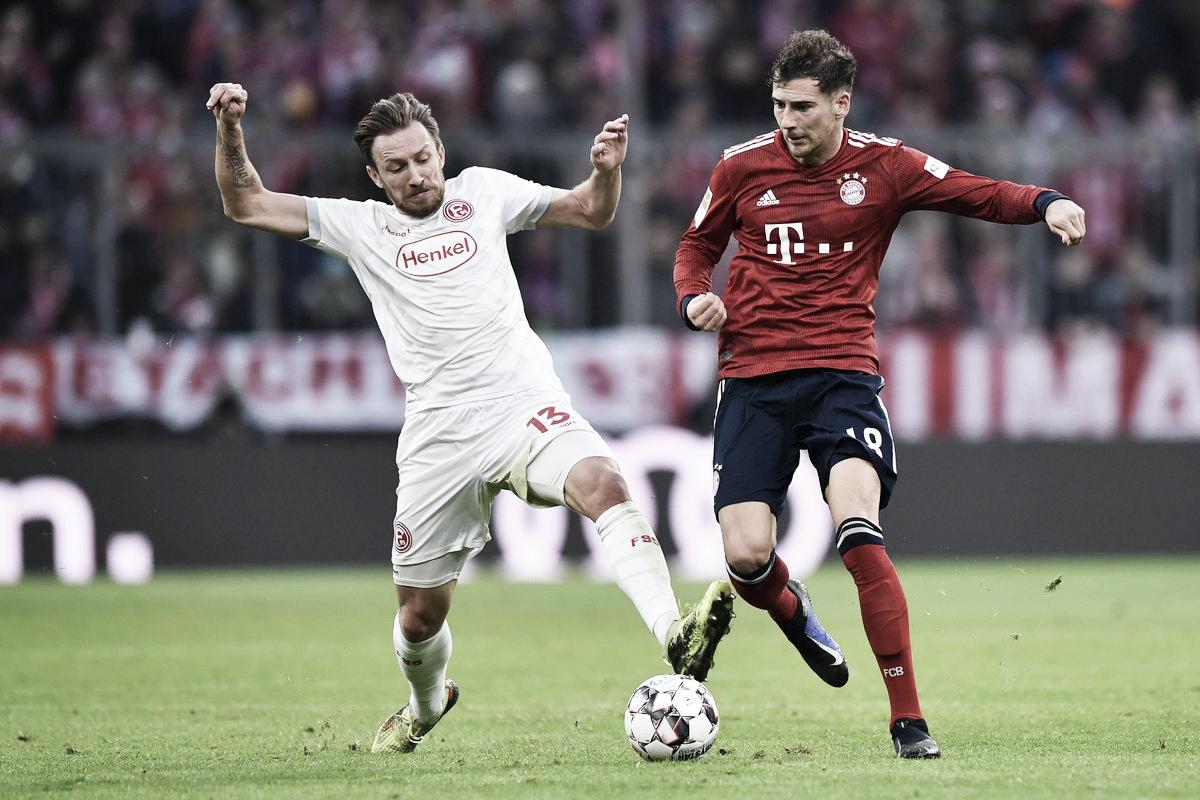 Lukebakio faz três e Fortuna Dusseldorf arranca empate com Bayern no último minuto