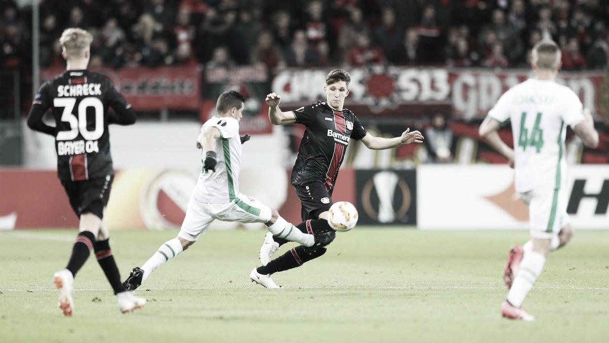 Bayer Leverkusen empata com Ludogorets e garante classificação para próxima fase