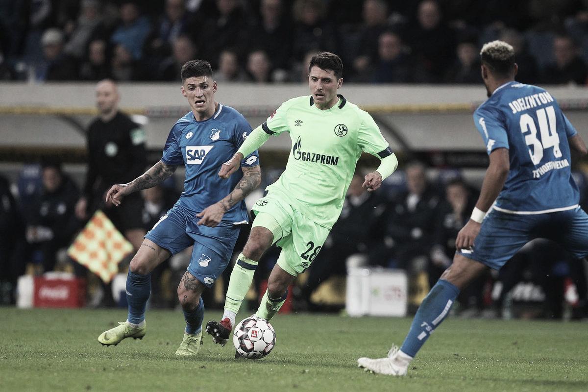 Schalke 04 empata com Hoffenheim e sobe na tabela