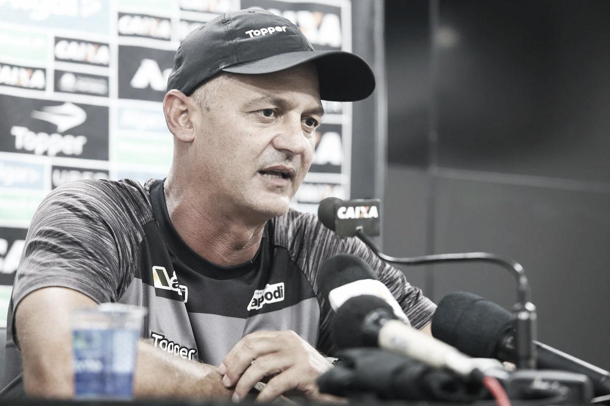 Após garantir permanência na Série A, Lisca confirma continuidade no Ceará em 2019