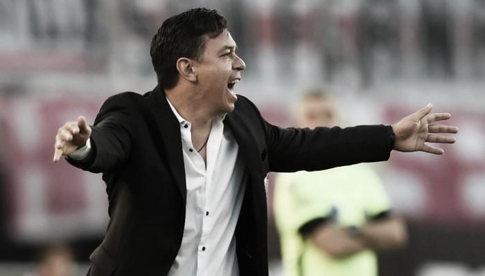 """Gallardo: """"El equipo no mostró respuestas futbolísticas"""""""