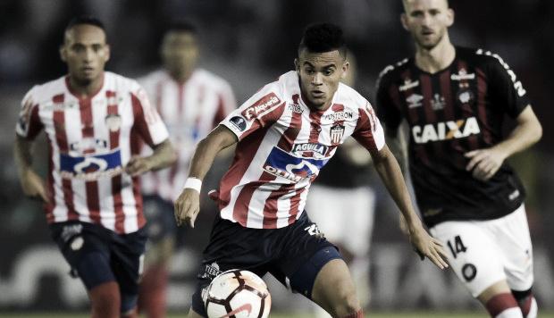 Junior de Barranquilla, a buscar la gloria en Curitiba